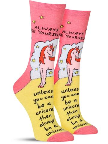 Always Be a Unicorn Socks