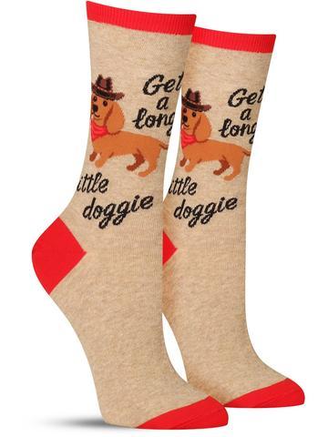 Get A Long Little Doggie Socks
