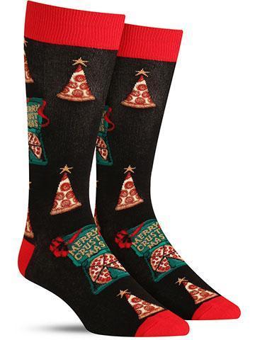 Merry Crustmas Socks
