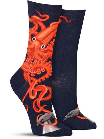 Squid and Whale Socks