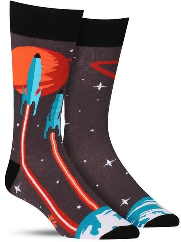 Launch from Earth Socks