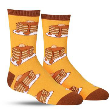 Lil' Eric's Breakfast Socks
