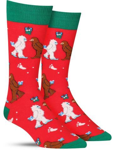 Mythical Kissmas Christmas Socks
