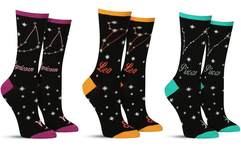 What's Your Sign: New Zodiac Socks Are Here!