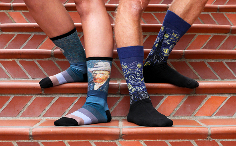 Get Inspired by New Art Socks