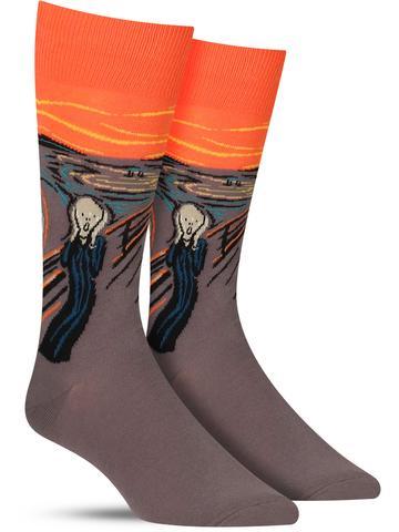The Scream Socks