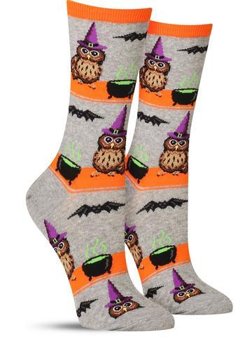 Owl Witch Socks