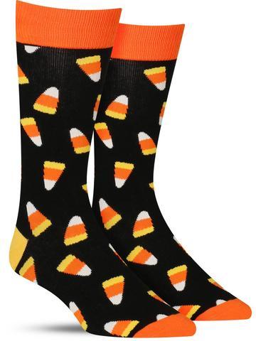 Candy Corn Socks