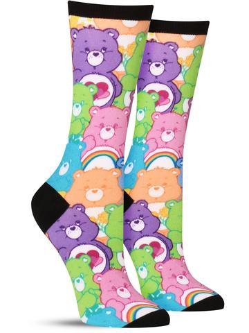 Care Bear Stare Socks