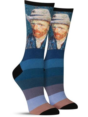 Self-Portrait With Grey Felt Hat Socks
