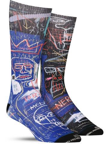Basquiat Anatomy Socks