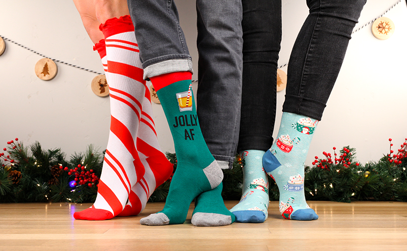 Make Your Toes Twinkle in Festive Christmas Socks