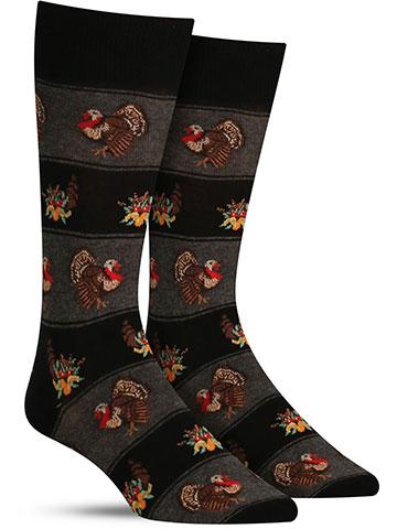 Men's Turkey Fairisle Socks