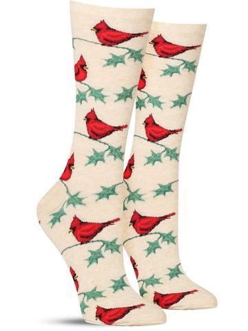 Women's Cardinals Socks