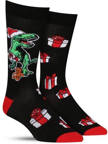Men's Xmas Rex Socks