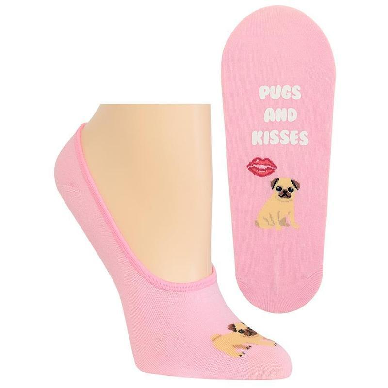 Pugs and Kisses Socks