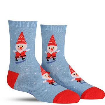 Kids' Santa Gnome Socks
