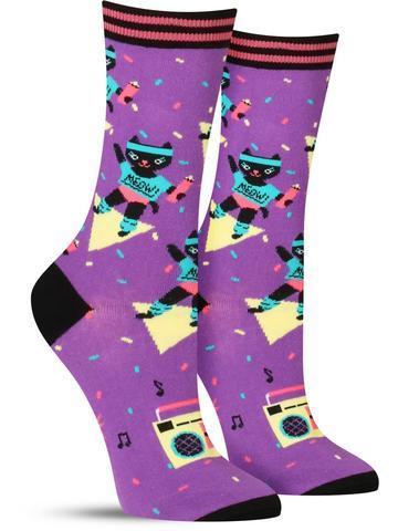 Cat-ercise Socks