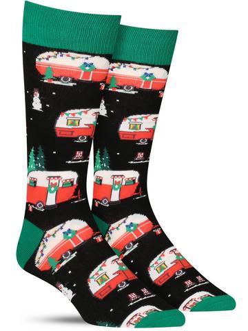 Men's Christmas Campers Socks