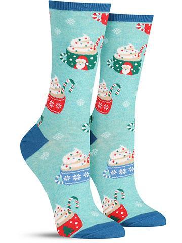 Women's Cocoa Christmas Socks