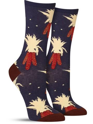 Women's Harvest Corn Socks