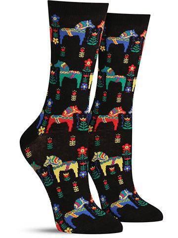 Women's Danish Horses Socks