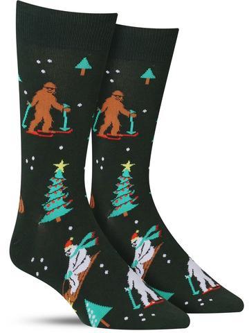 Men's Ready, Yeti, Go! Christmas Socks