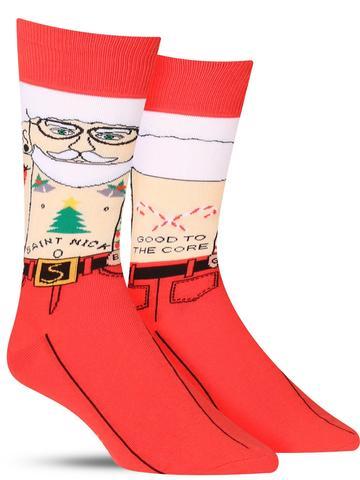 Men's Saint Nick Christmas Socks