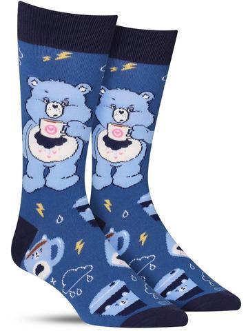 Men's Care Bears More Coffee Less Grumpy Socks