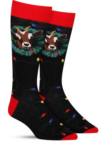 Men's The Goat Who Ate Christmas Socks