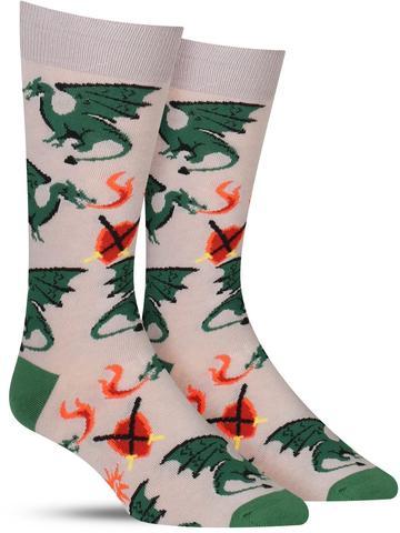 Beware of Dragons Socks