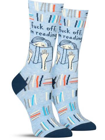 F*ck Off, I'm Reading Socks