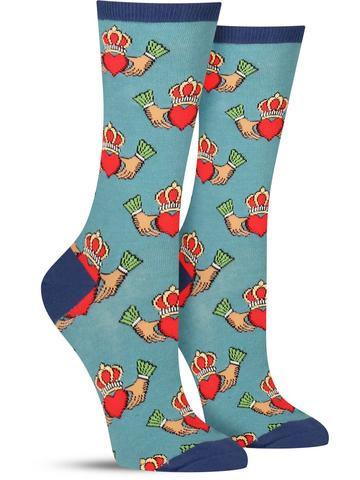 Women's Claddagh Socks