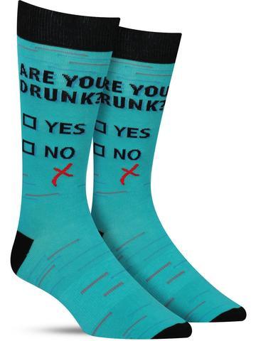 Not Drunk Socks