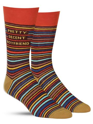 Pretty Decent Boyfriend Socks