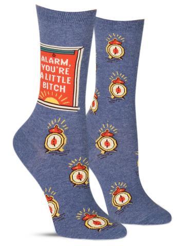 Alarm B*tch Socks