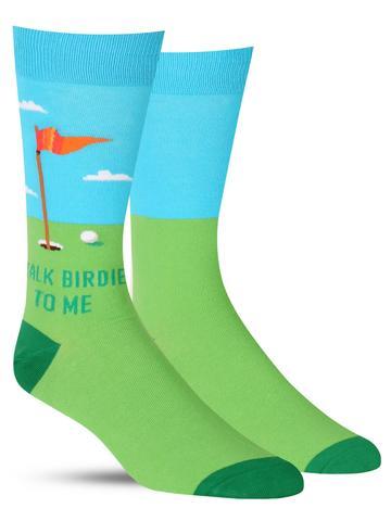 Talk Birdie to Me Socks
