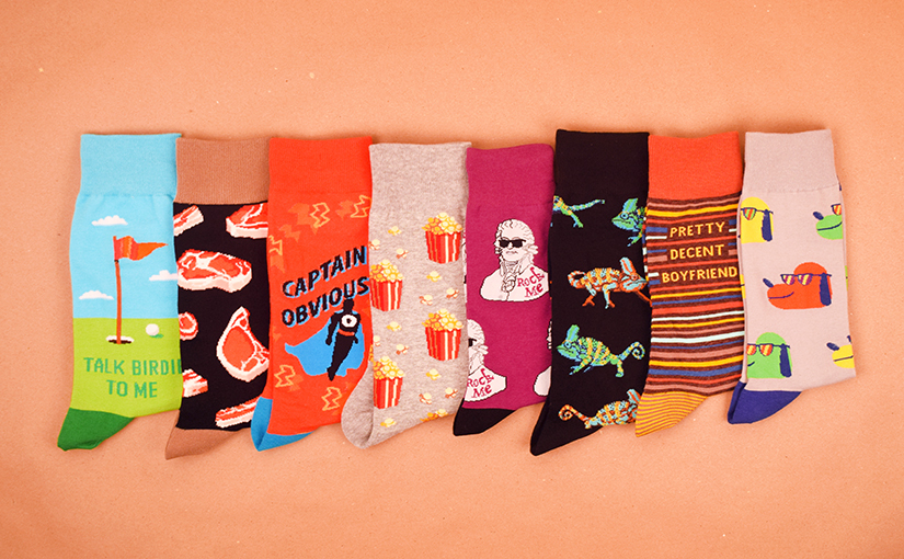 Guys, Up Your Sock Game with Men's New Arrivals