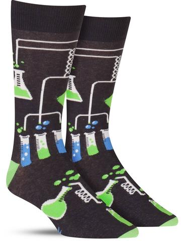 Laboratory Glow-in-the-Dark Socks