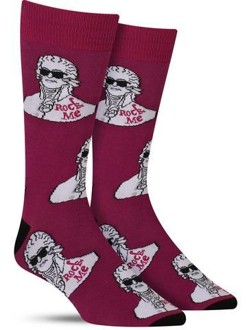 Rock Me Amadeus Socks