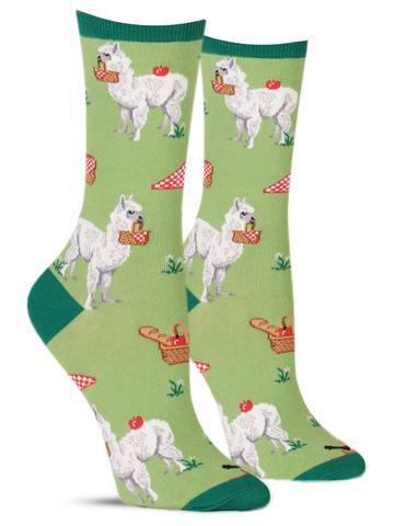 Women's Alpaca Lunch Socks