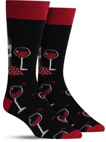 Men's Wine Scene Socks