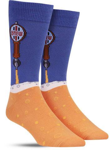 Men's Beer Taps Socks