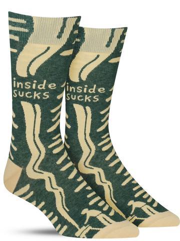 Men's Inside Sucks Socks