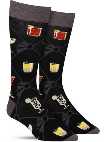Men's Speakeasy Cocktails Socks