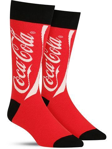Men's Coca-Cola Socks