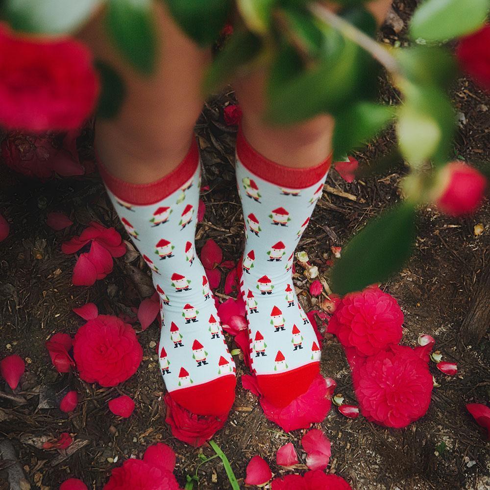 Garden Gnome Socks