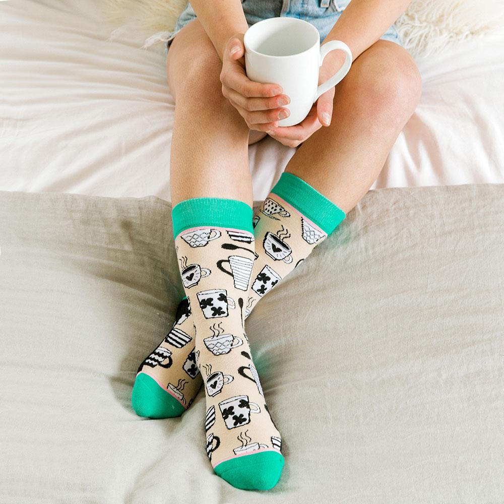 Mug Life Socks